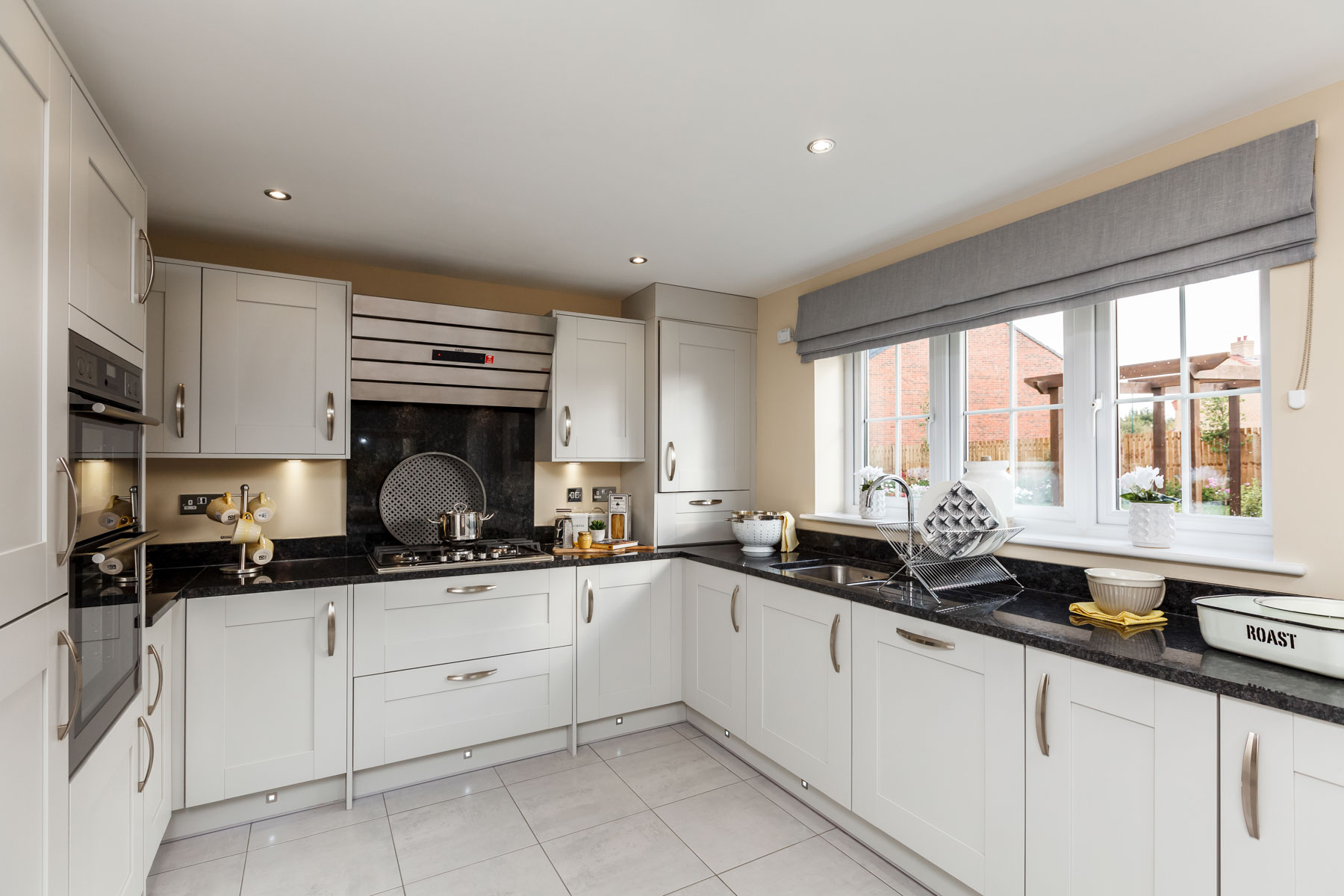 TW Exeter - Sherford - The Fir example kitchen