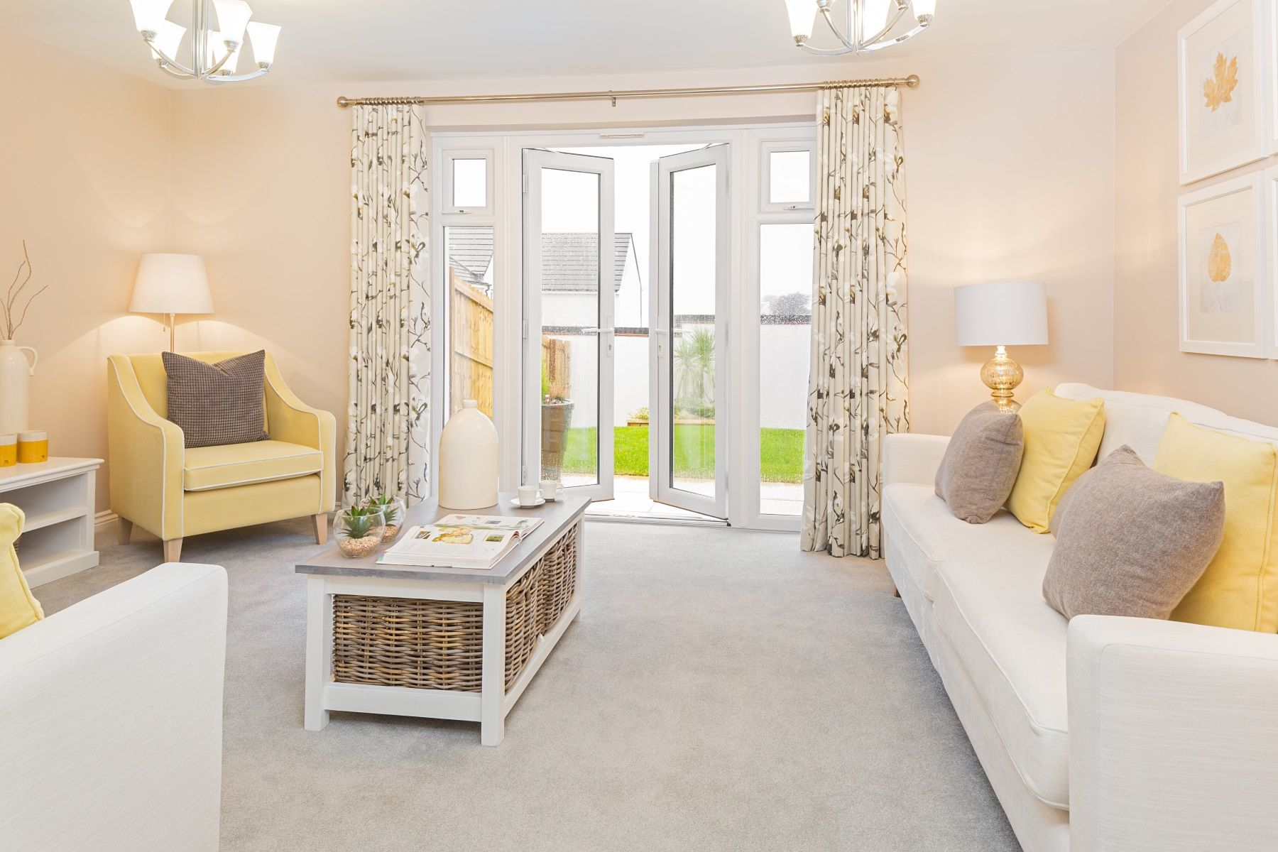 TW Exeter - Sherford - Flatford example living room 2