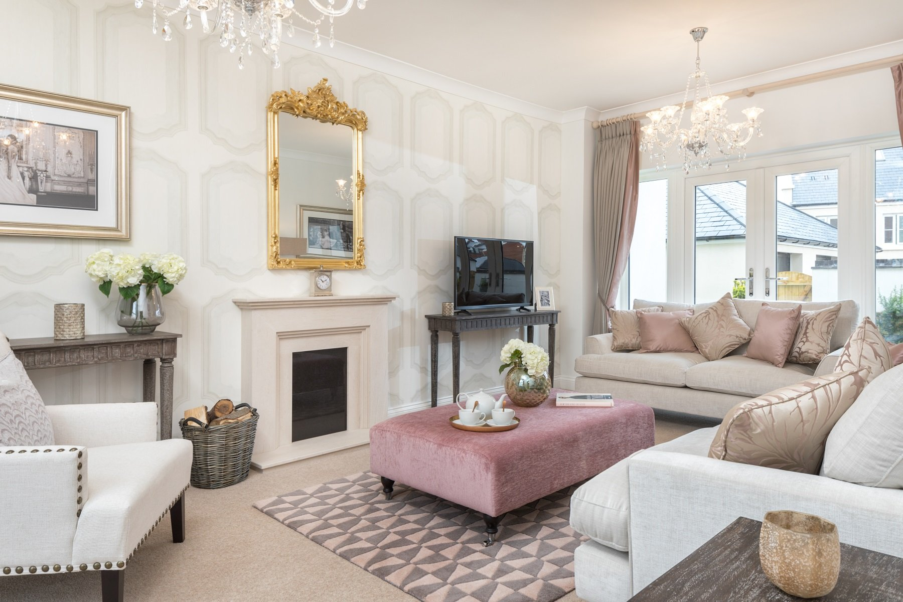 TW Exeter - Sherford - The Hawthorn - Living room