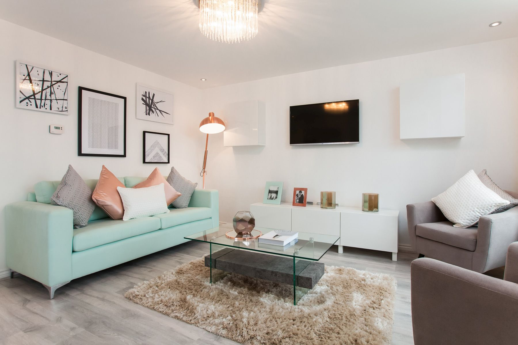 TW Exeter - Sherford - Juniper example living room