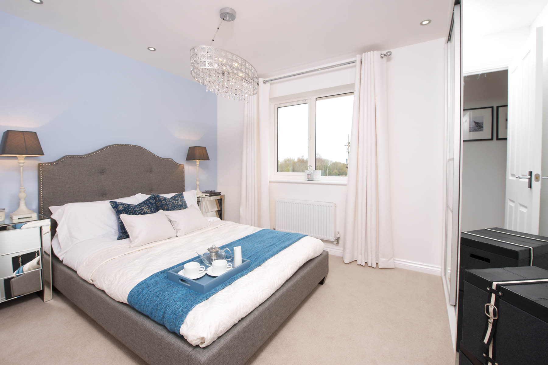 TW Exeter - Sherford - Larch example bedroom 2
