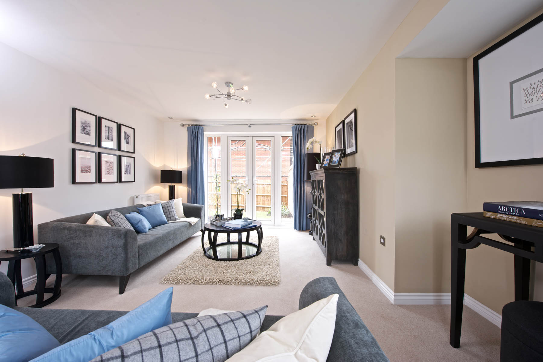 TW Exeter - Sherford - Larch example living room 2