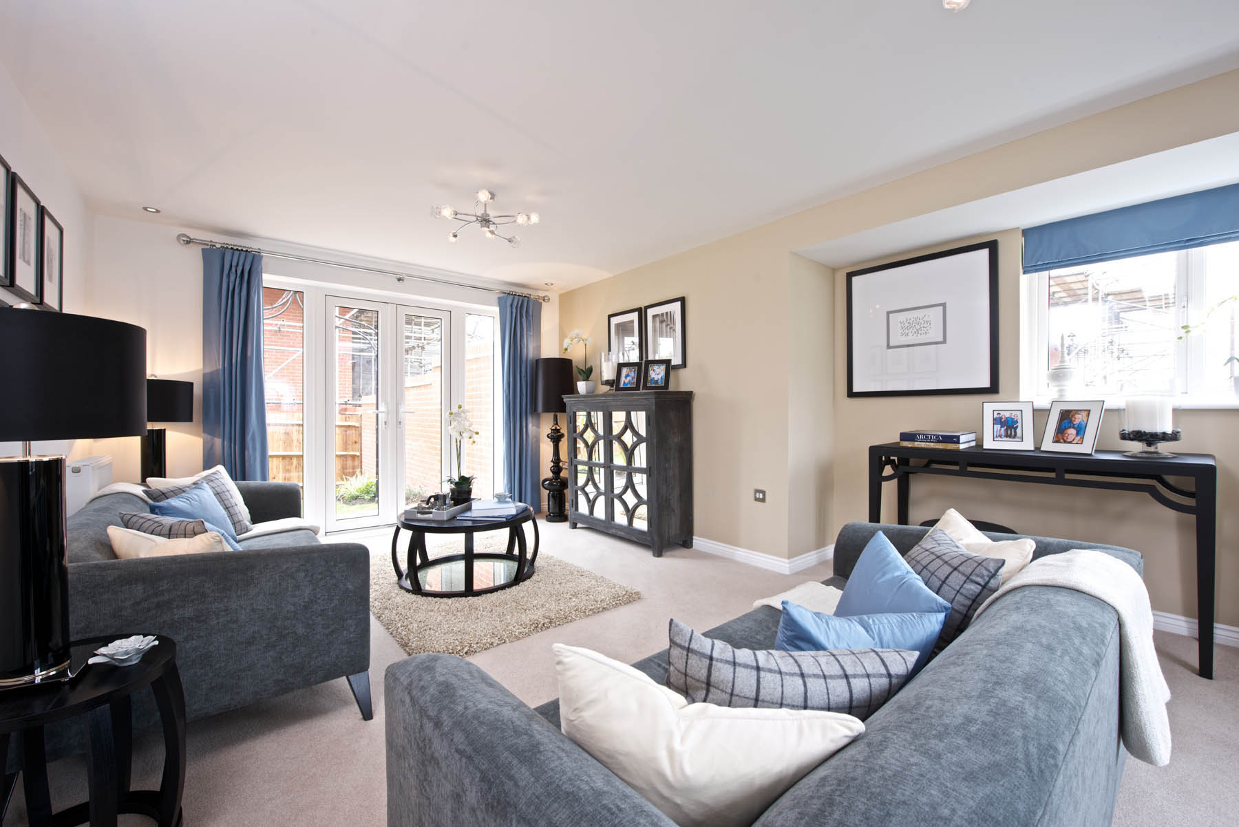 TW Exeter - Sherford - Larch example living room
