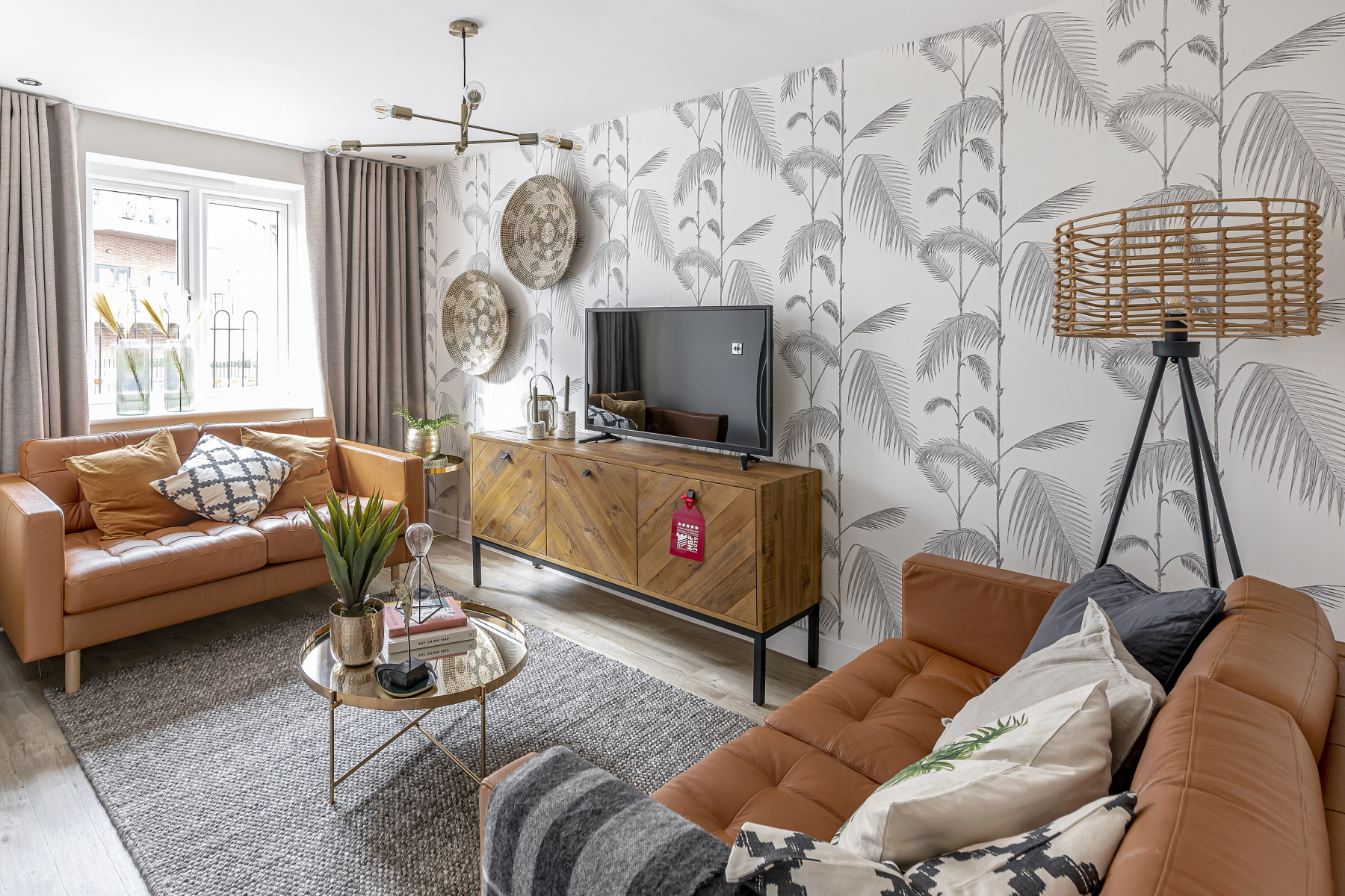 TW Exeter - Sherford - Maple example living room