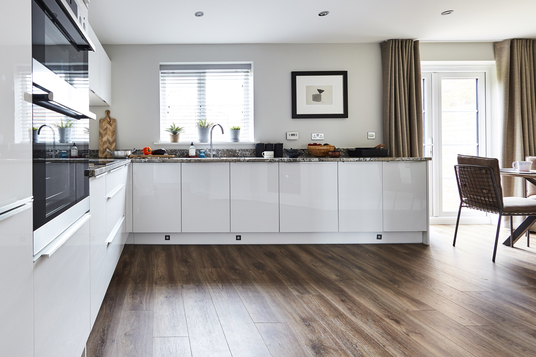 TW Exeter - Sherford - Maple example kitchen 2