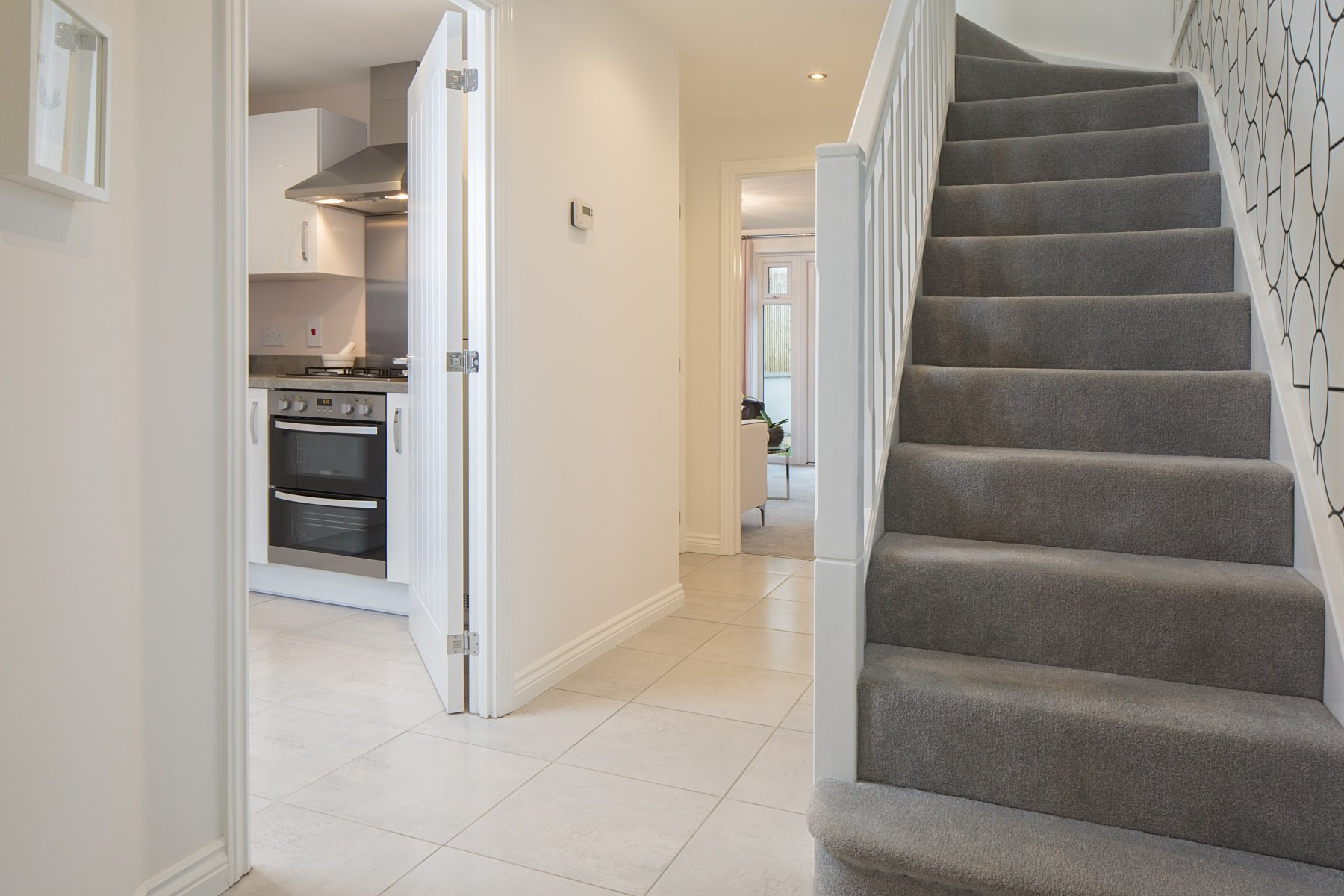 TW Exeter - Sherford - Oak example hallway