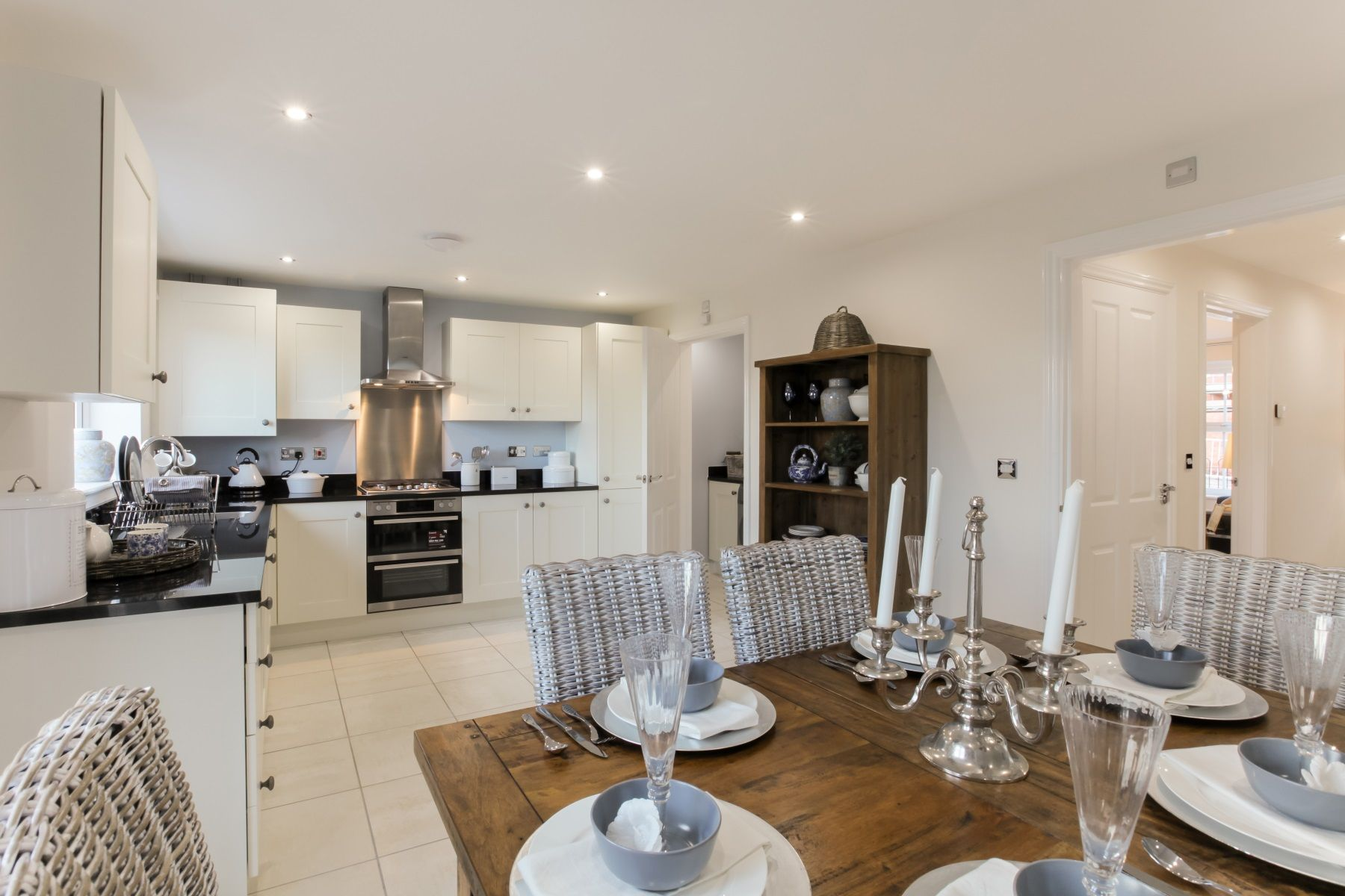 TW Exeter - Sherford - The Redwood example kitchen 2