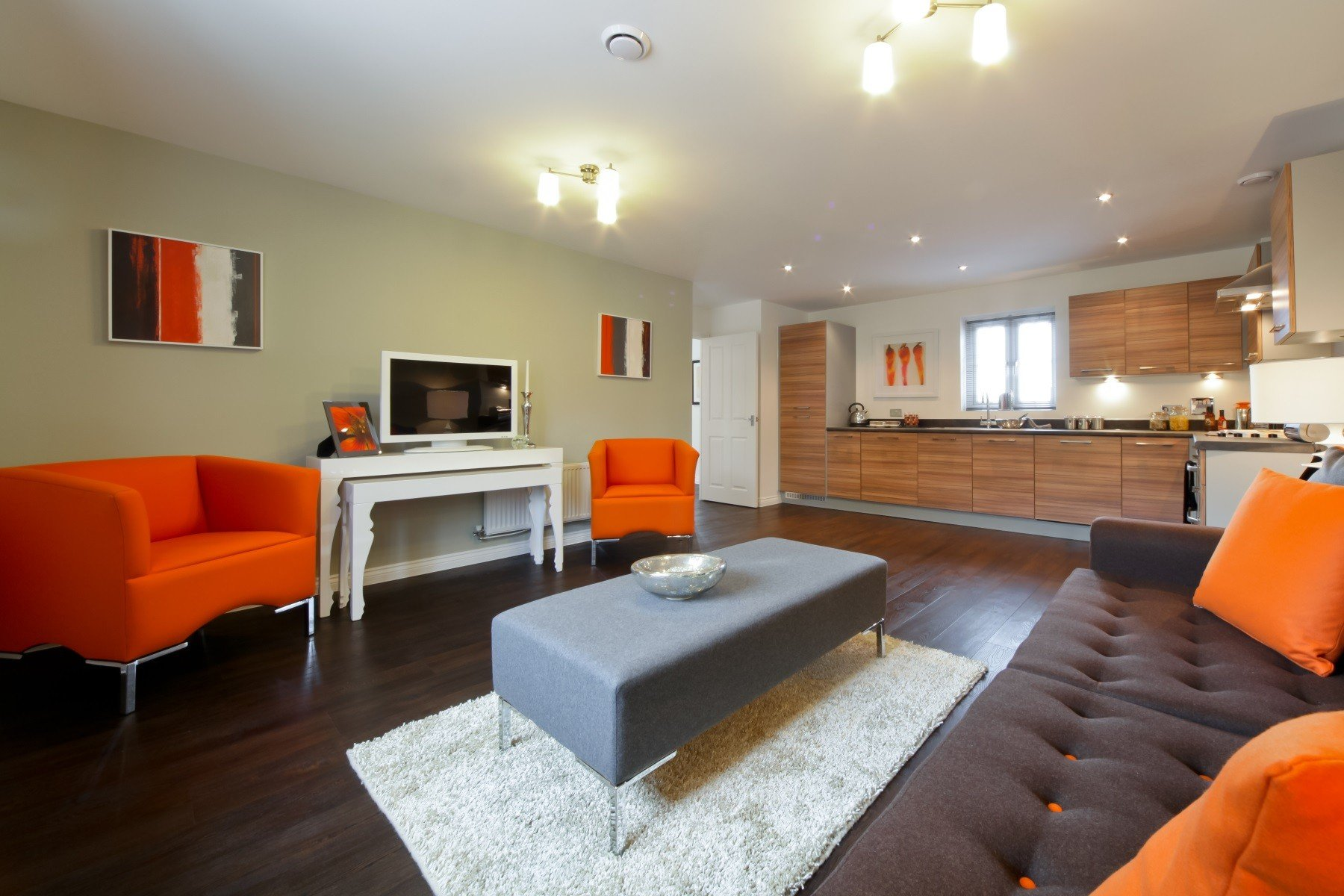 TW Exeter - Sherford - Rowan example living area 2
