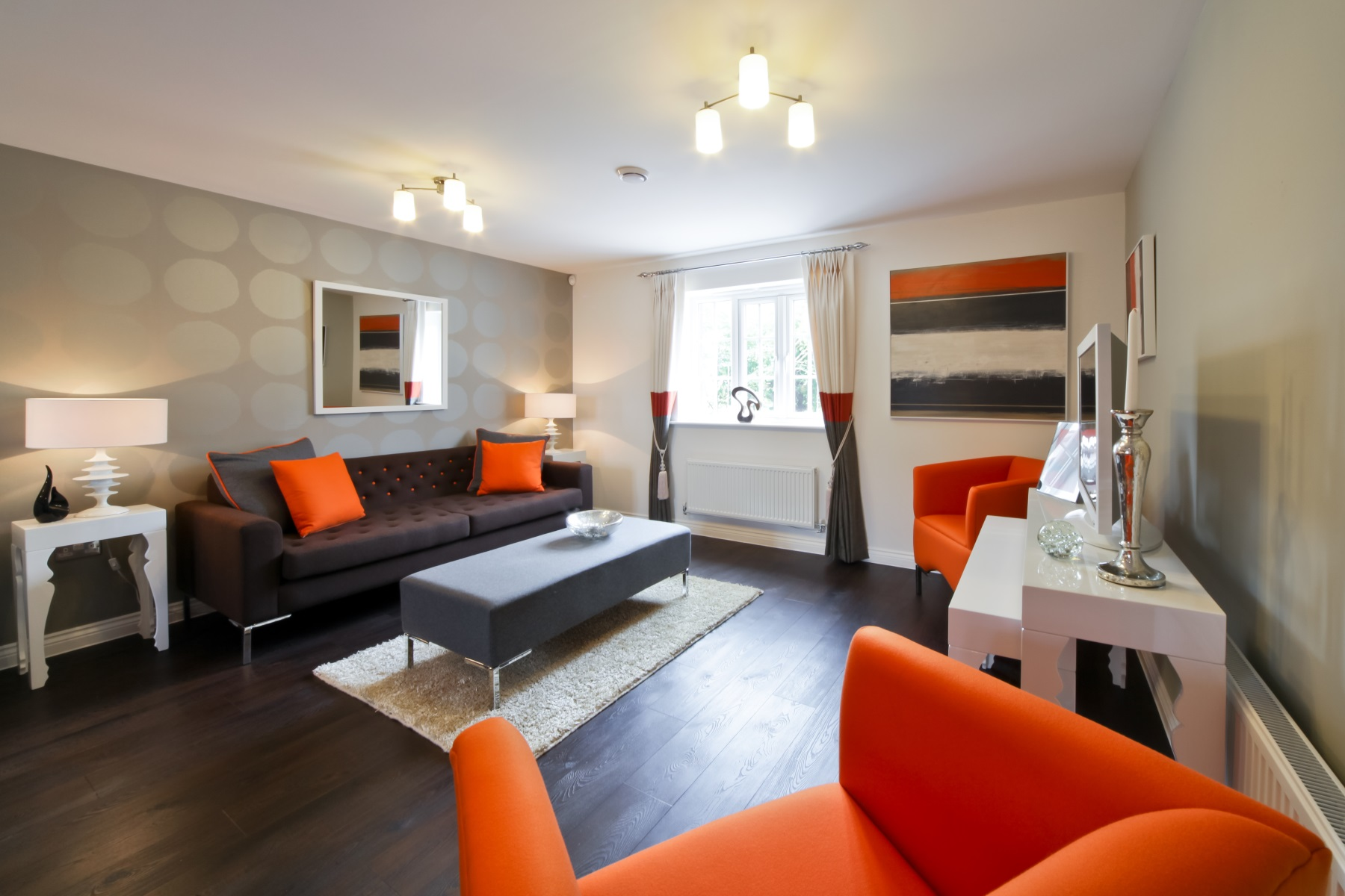 TW Exeter - Sherford - Rowan example living area