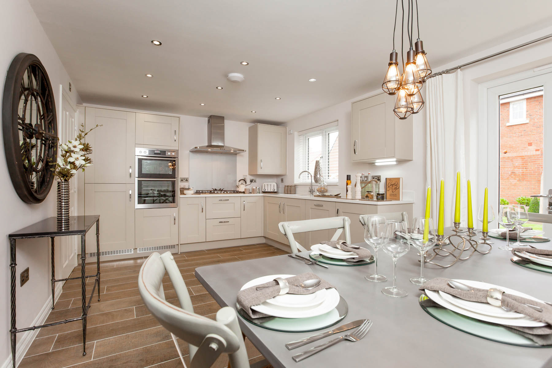 Taylor Wimpey Exeter - Sherford - Willow example kitchen
