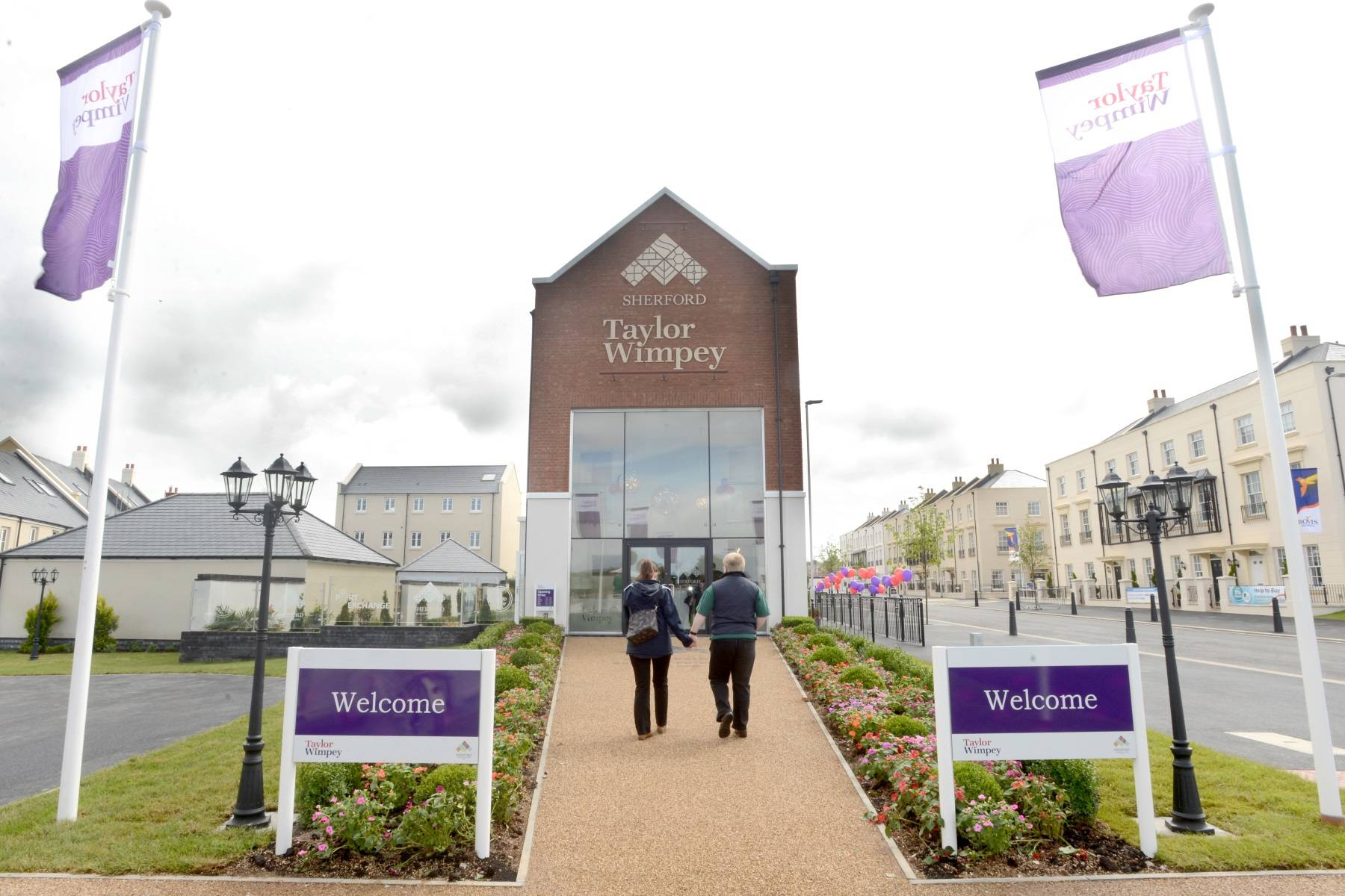 TW Exeter - Sherford - Sales Office
