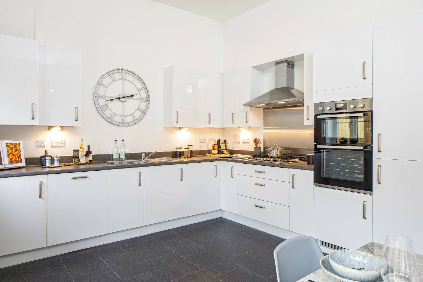 TW Exeter - Sherford - Willow kitchen