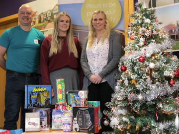 NEWS The Childrens Society will share Taylor Wimpeys thoughtful gifts with youngsters to ensure they