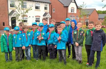 WEB  The children were invited to its Oakwood Meadows development where they were given a rare oppor
