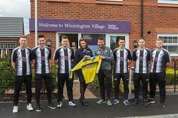 WEB - Barnton Football Club has scored a new sponsor