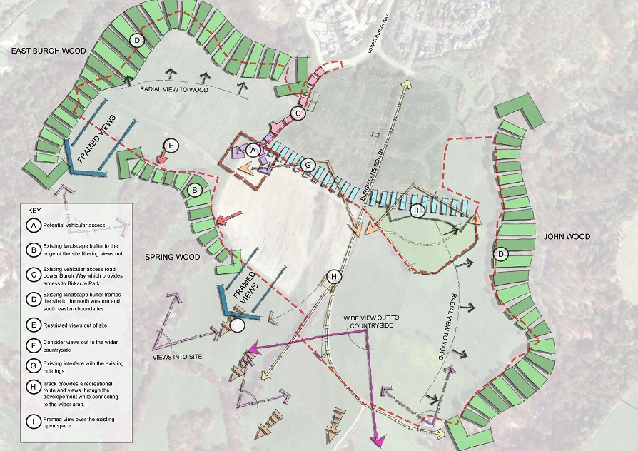 Context Plan for Lower Burgh Way Chorley