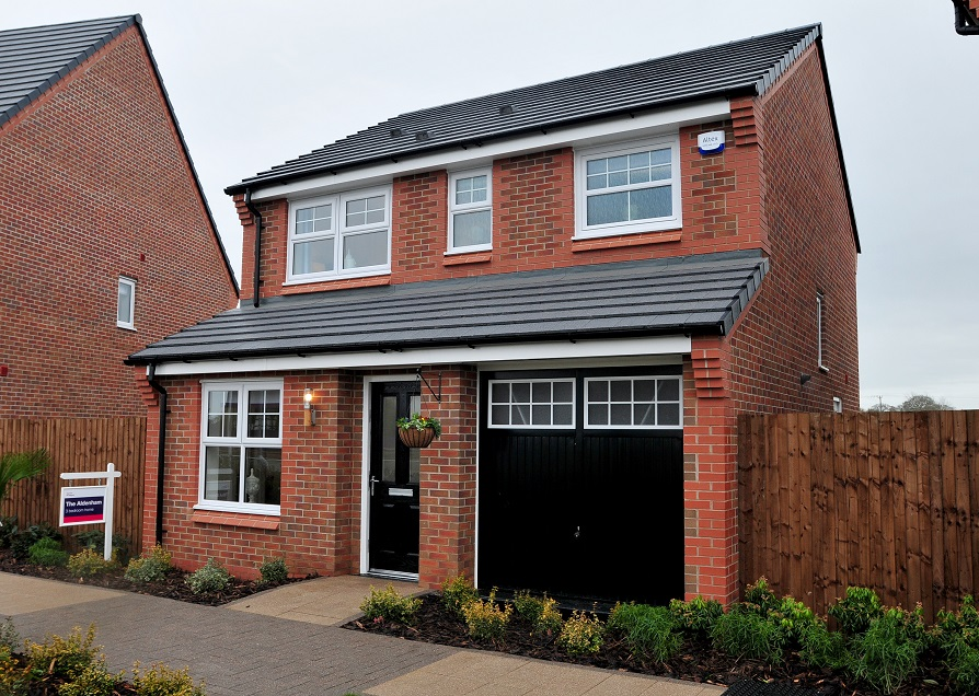 Example of proposed detached house at Martin Street Audenshaw