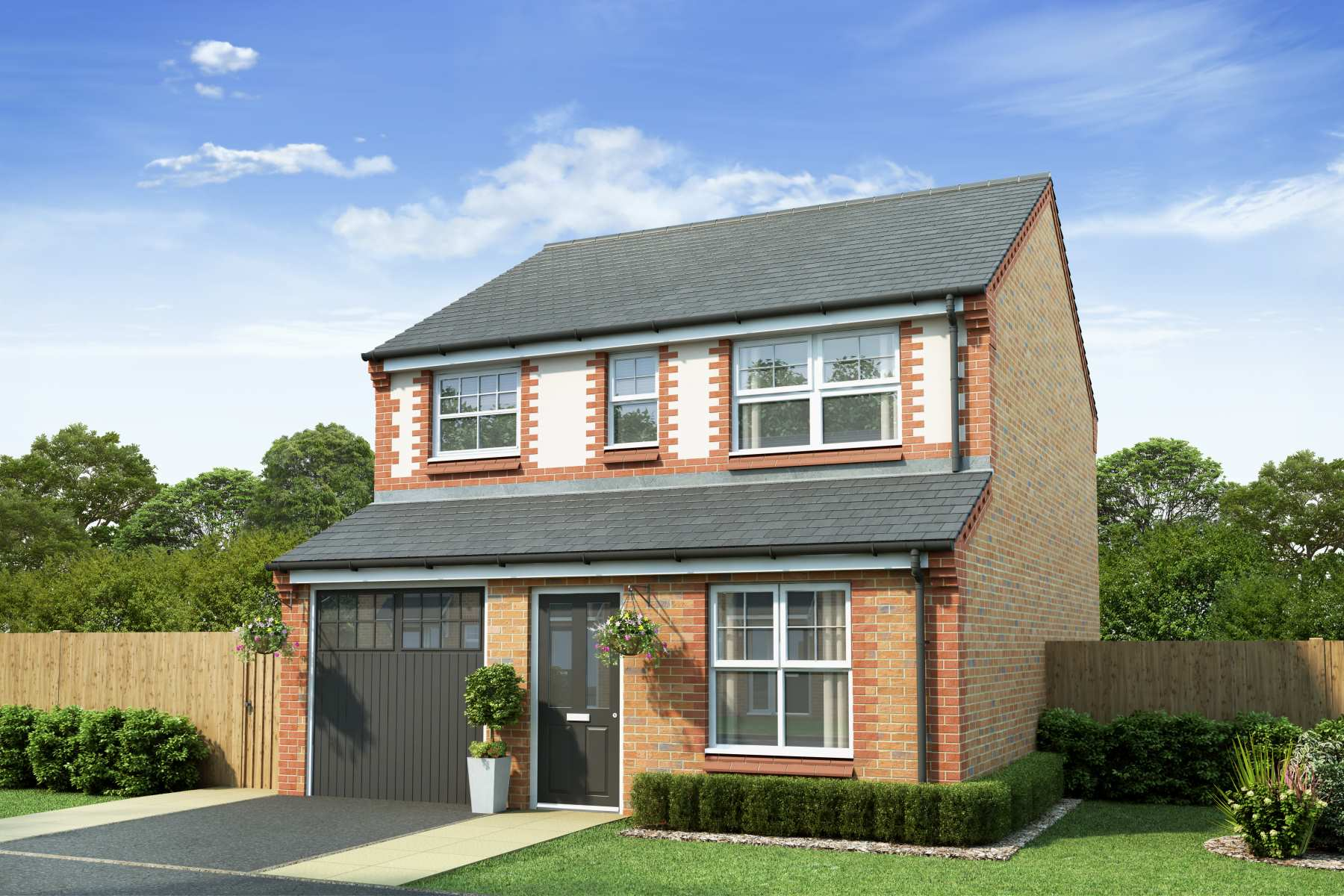 The Aldenham (Booth Lane - Render)