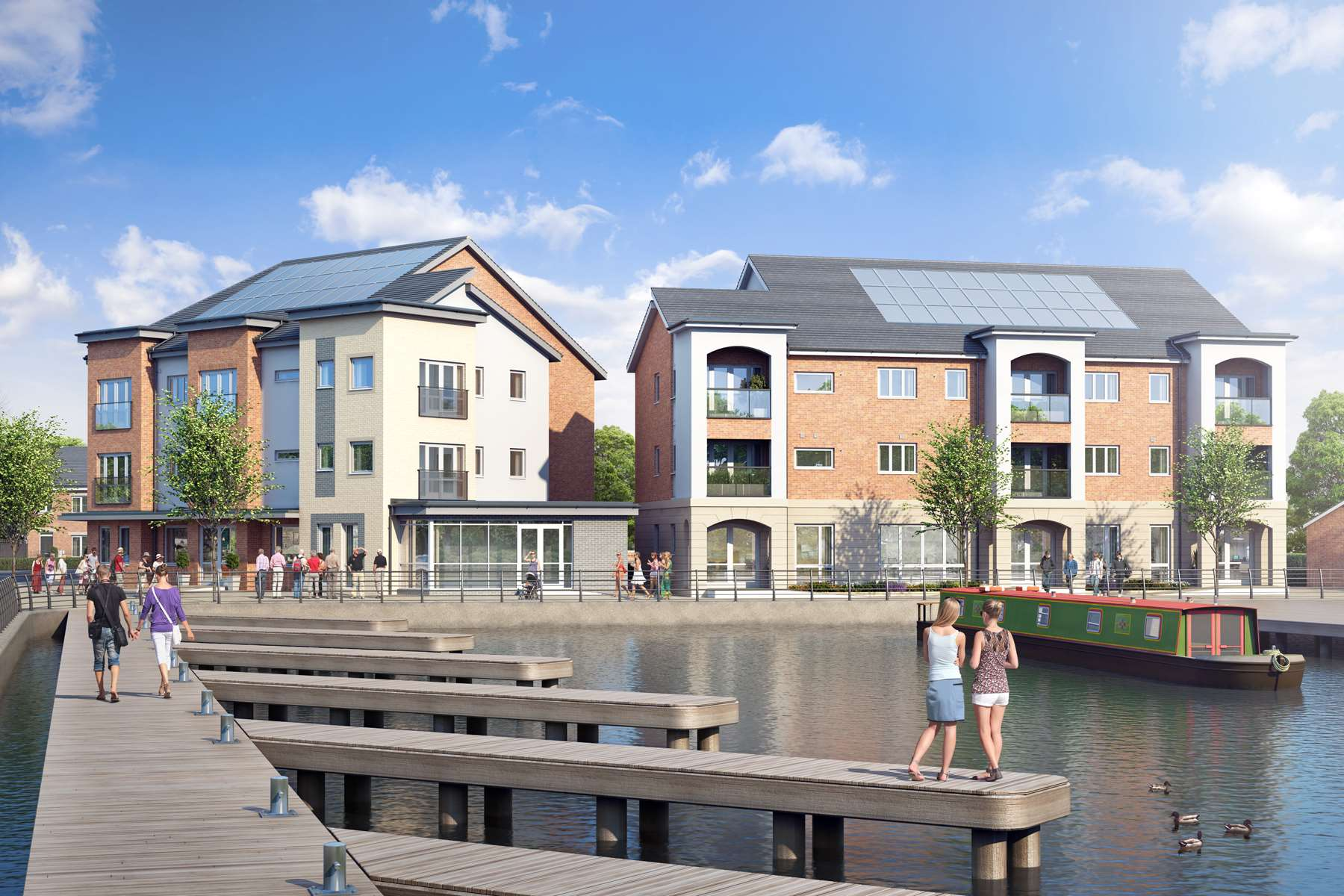 WEB - Community Apartment Block - Plots 84-99 - View1