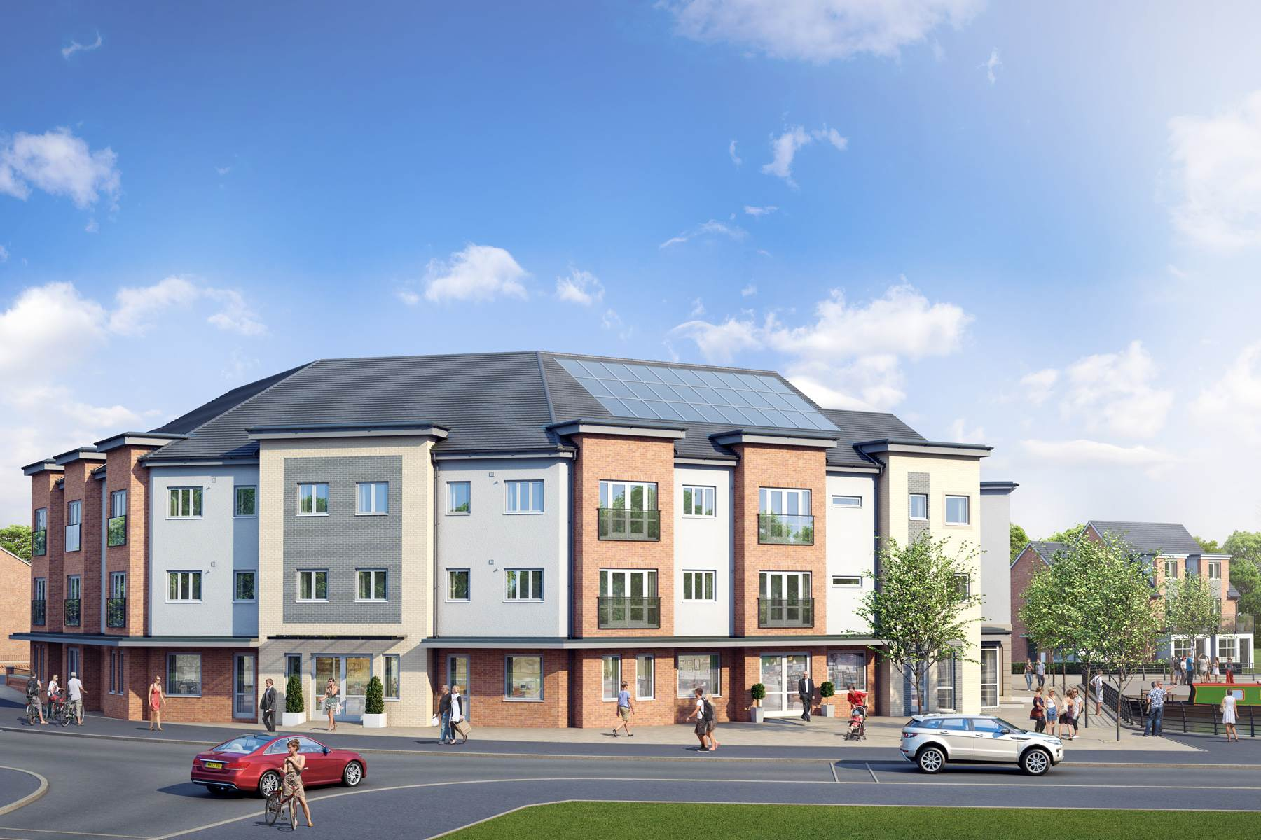 WEB - Community Apartment Block - Plots 84-99 - View2