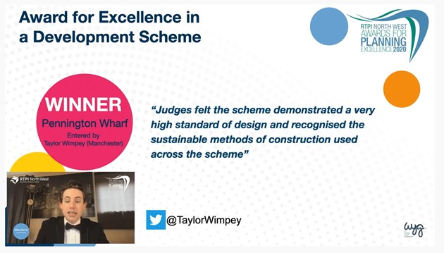 Award for excellence in a development scheme