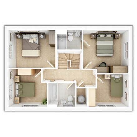 Kentdale First Floor Plan