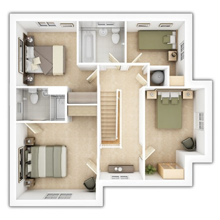 The Chelford First Floor Plan