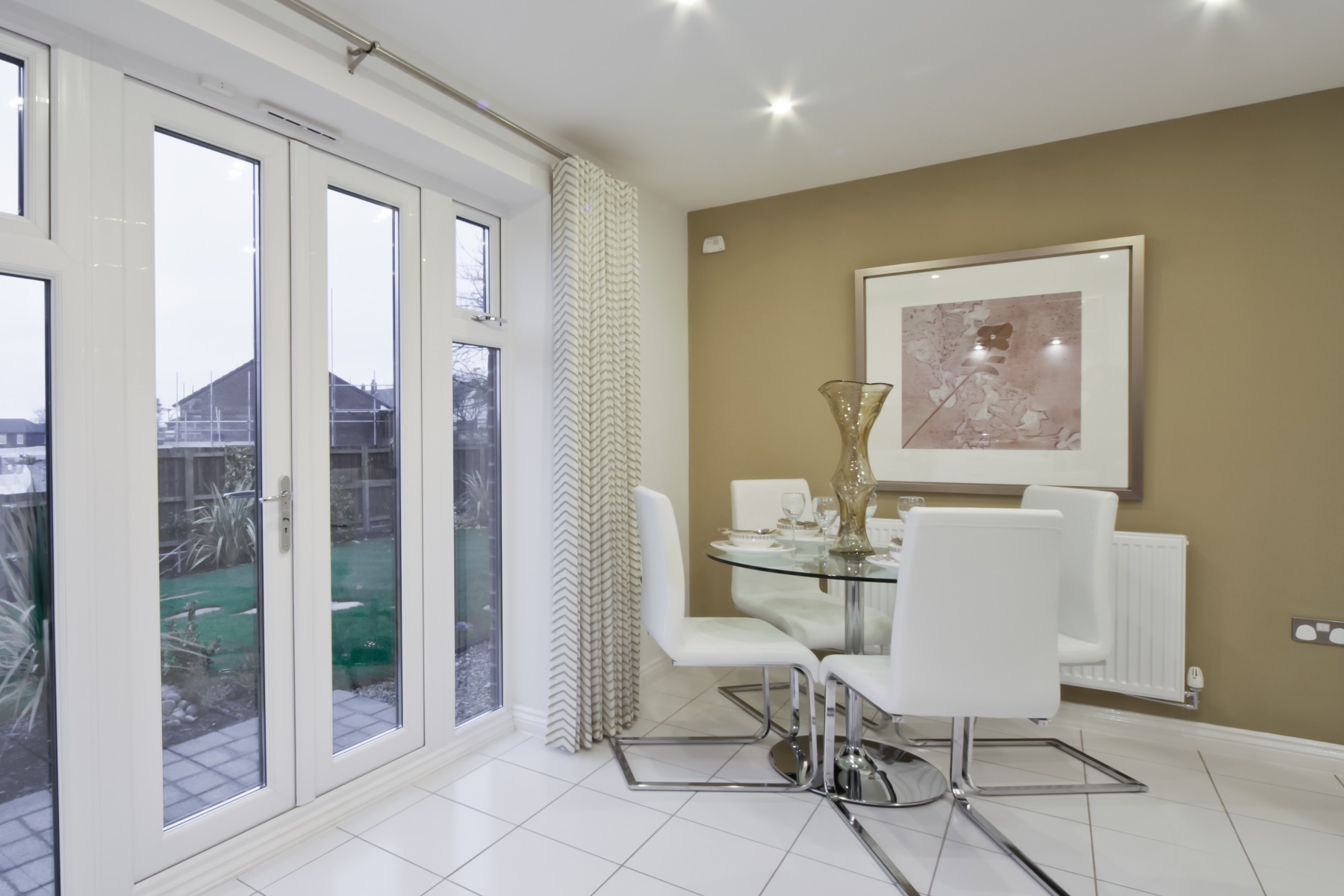 Earlsford Showhome Dining Area - Sandbrook View