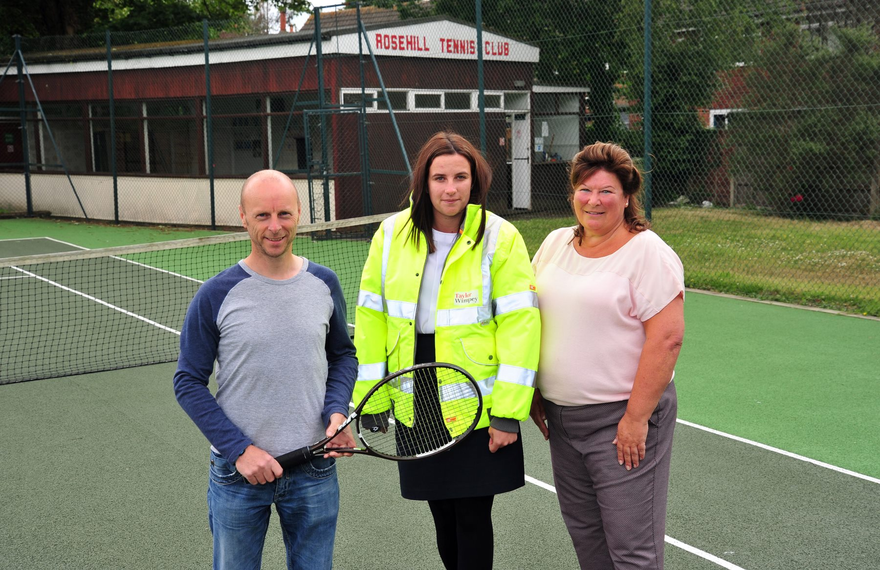 Rose Hill is the only tennis club in Ashton-under-Lyne