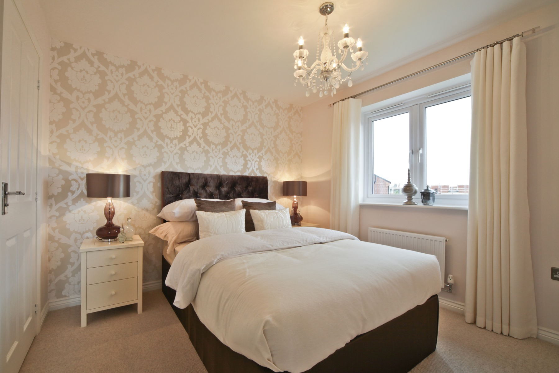 Knutsford Showhome - Master Bedroom