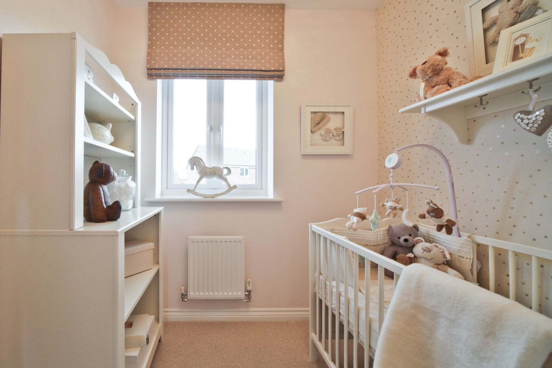 Knutsford Showhome - Nursery Bedroom 3