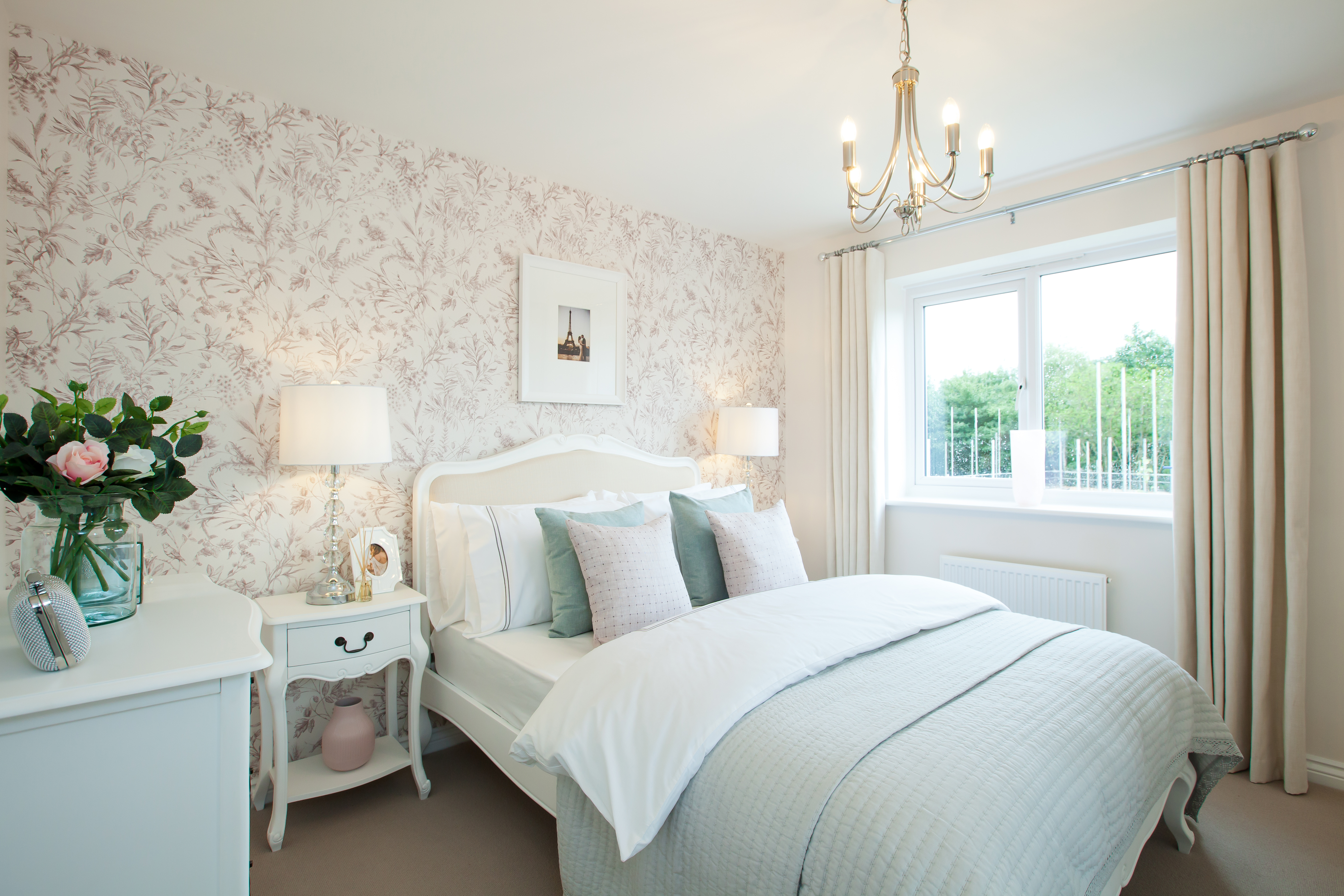 Typical Taylor Wimpey Home Bedroom