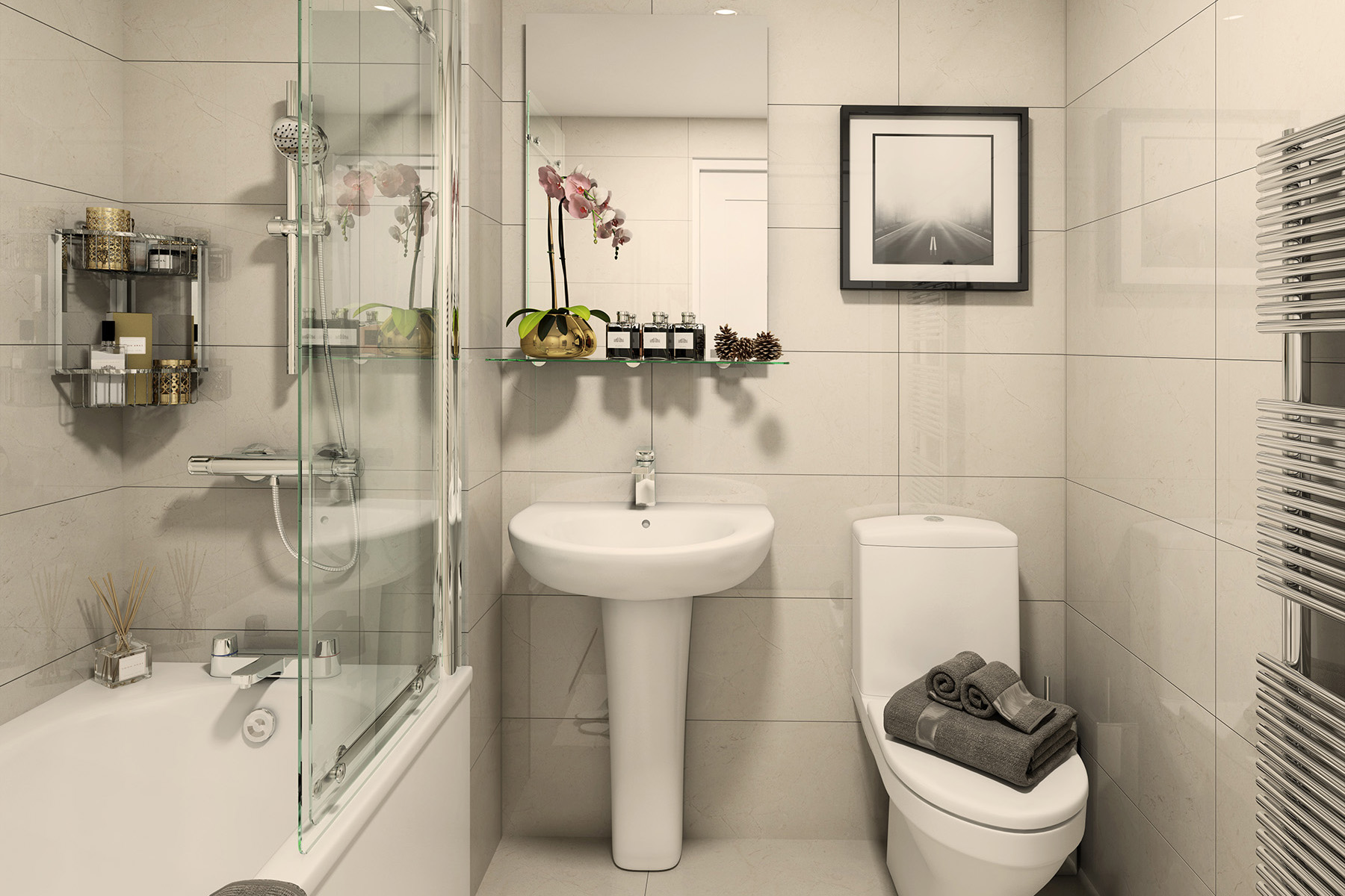 TW South Midlands_Shakespeare Park_Apartment B1_Bathroom