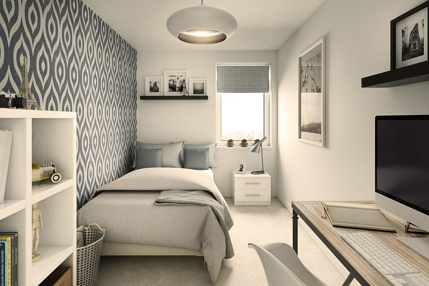 TW South Midlands_Shakespeare Park_Apartment B1_Bedroom