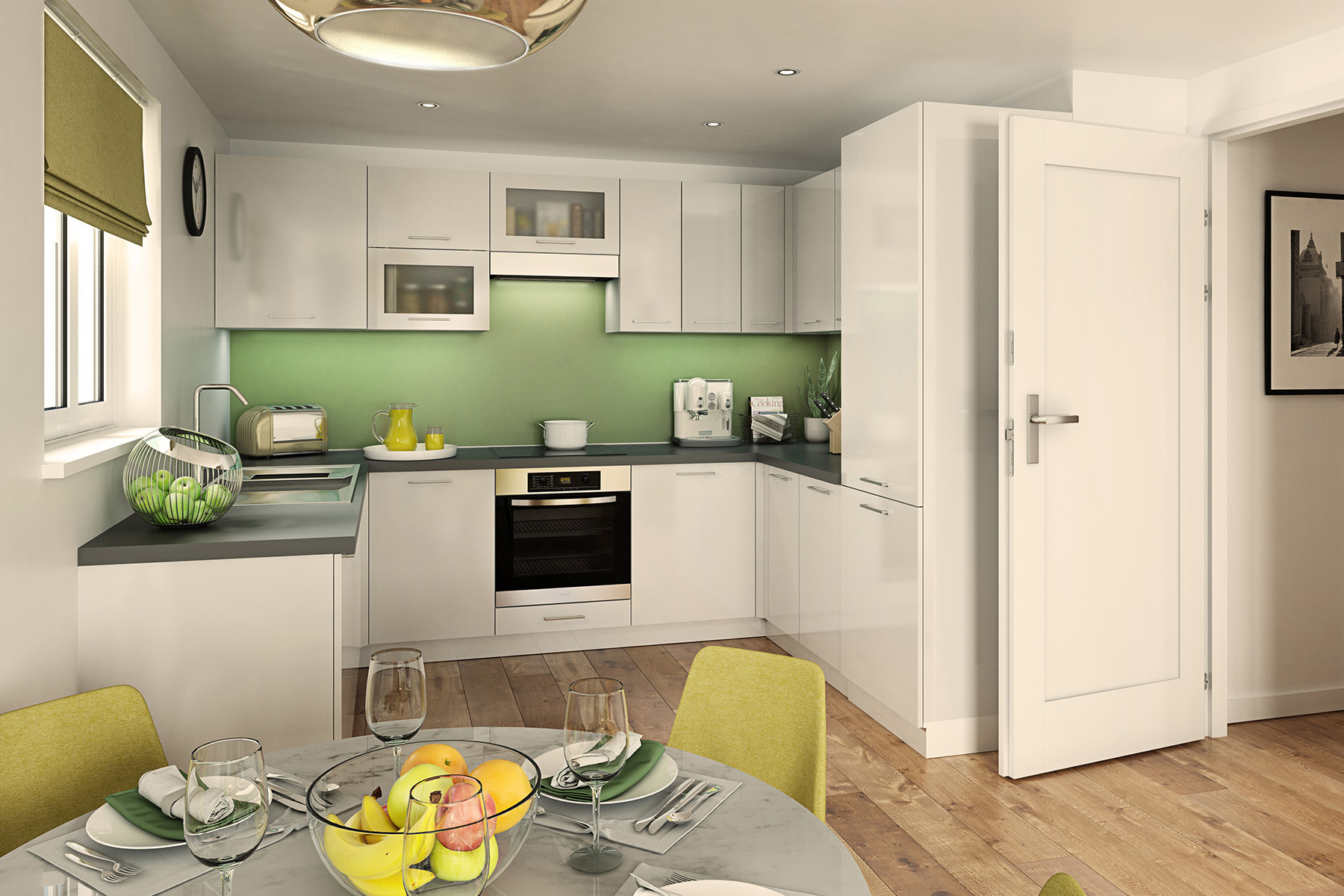 TW South Midlands_Shakespeare Park_Apartment B1_Kitchen