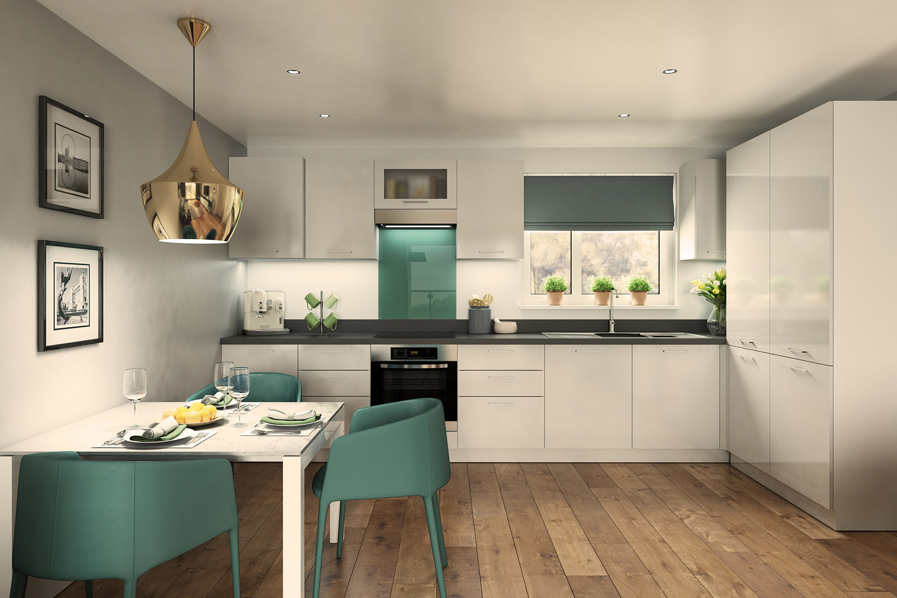 TW South Midlands_Shakespeare Park_Apartment E_Kitchen