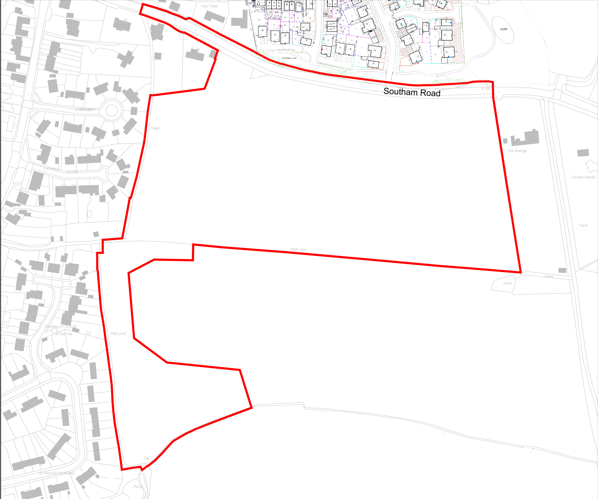 Red Line Boundary Plan copy