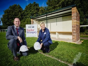 WEB - Haycop Rise - Taylor Wimpey Dugout Community Sponsorship