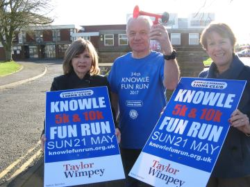 WEB - Knowle Fun Run - Taylor Wimpey Donation