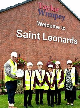 WEB - Saint Leonards - The Polesworth School - time capsule burial (1)