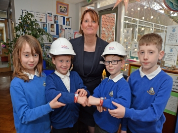 WEB Southam Primary School - Watch Donation - Taylor Wimpey Midlands