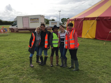 We are proud to support Southam circus event