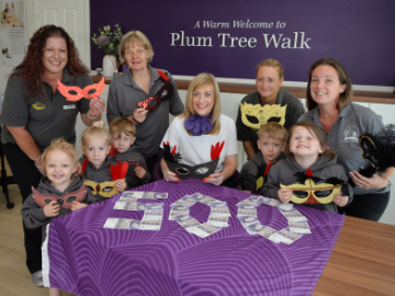 We helped Pinvin Pre-School raise money for good causes