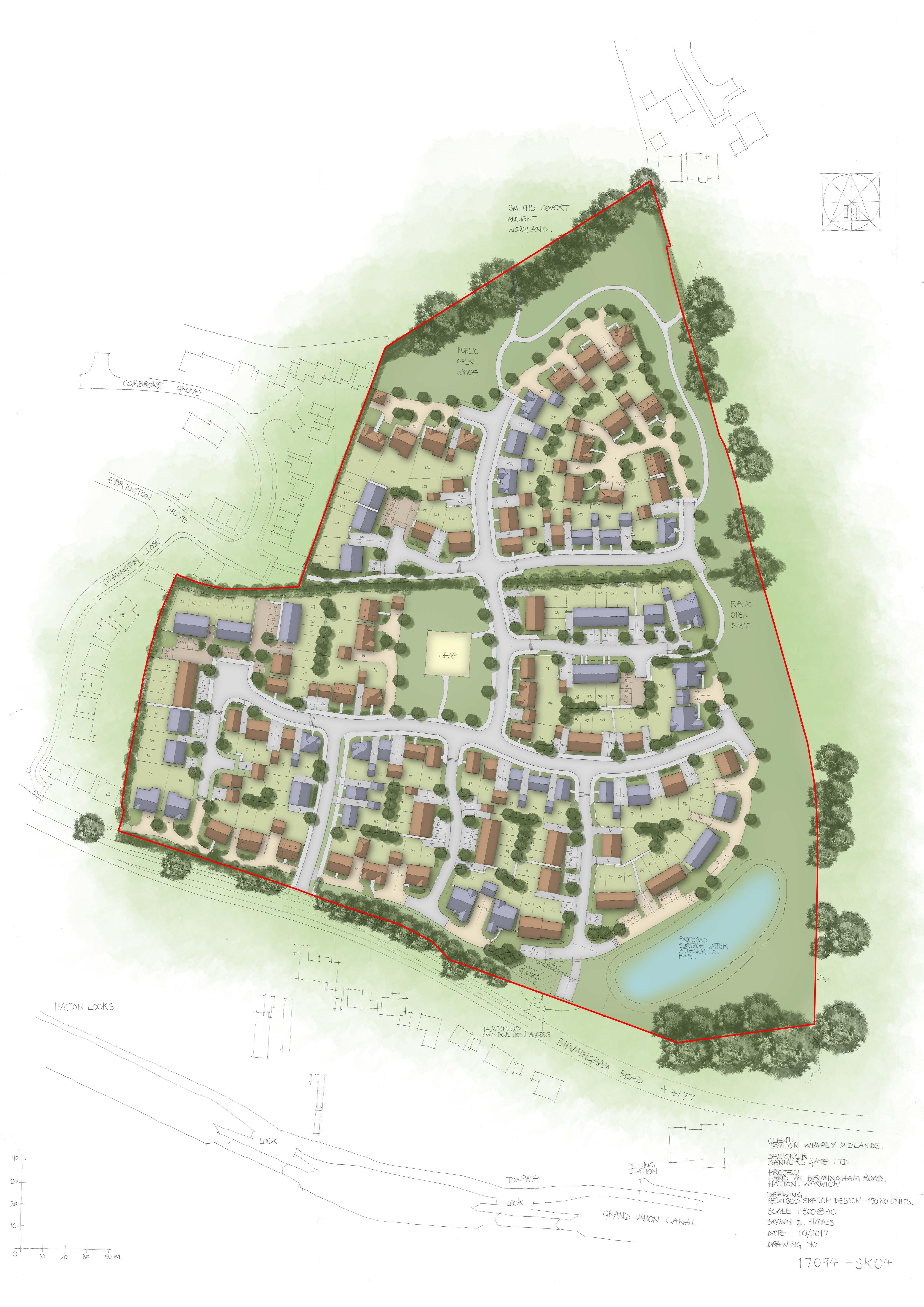 Hatton 17094 - Coloured Site Layout-