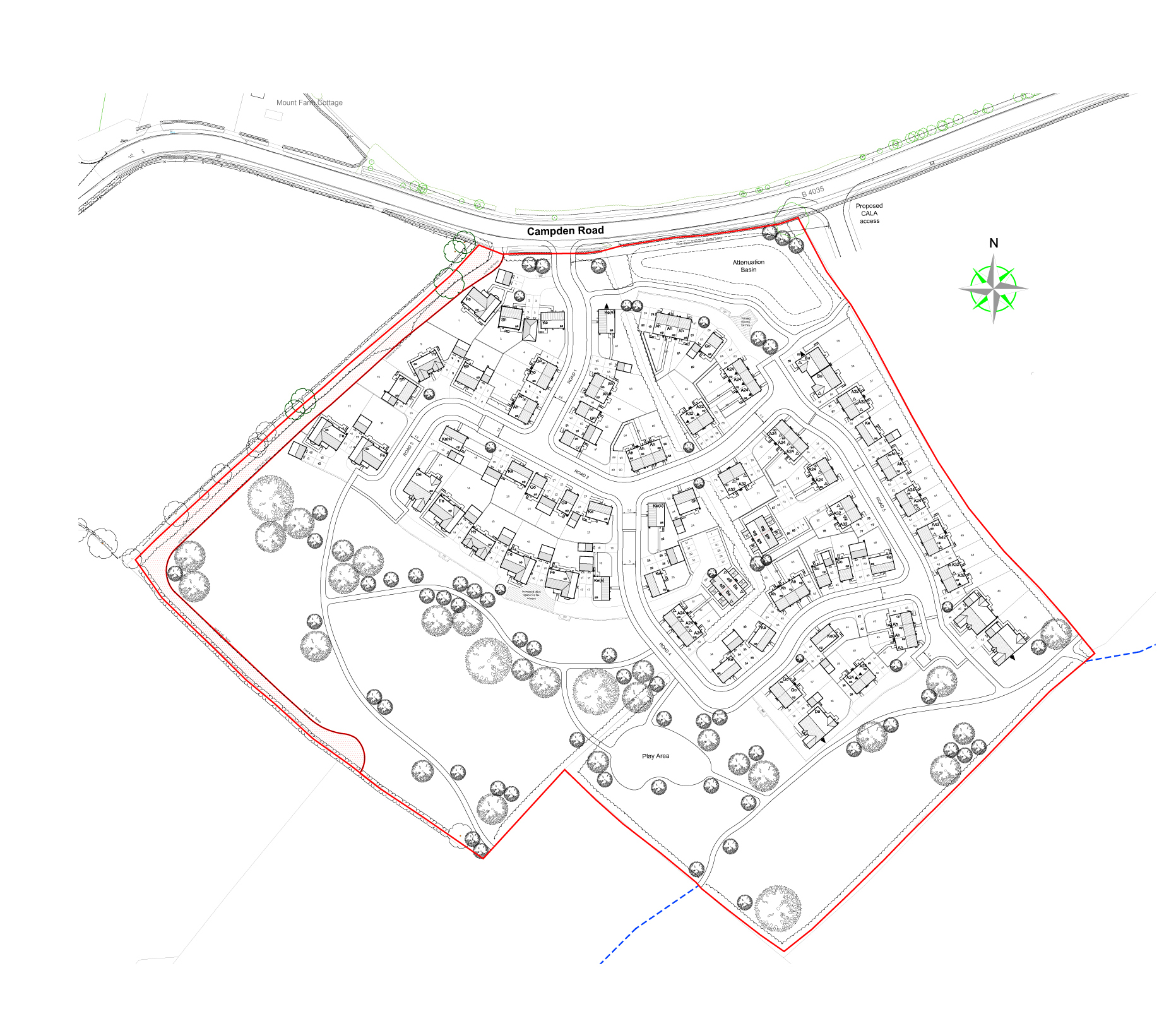 20134-01 Shipston Planning Layout