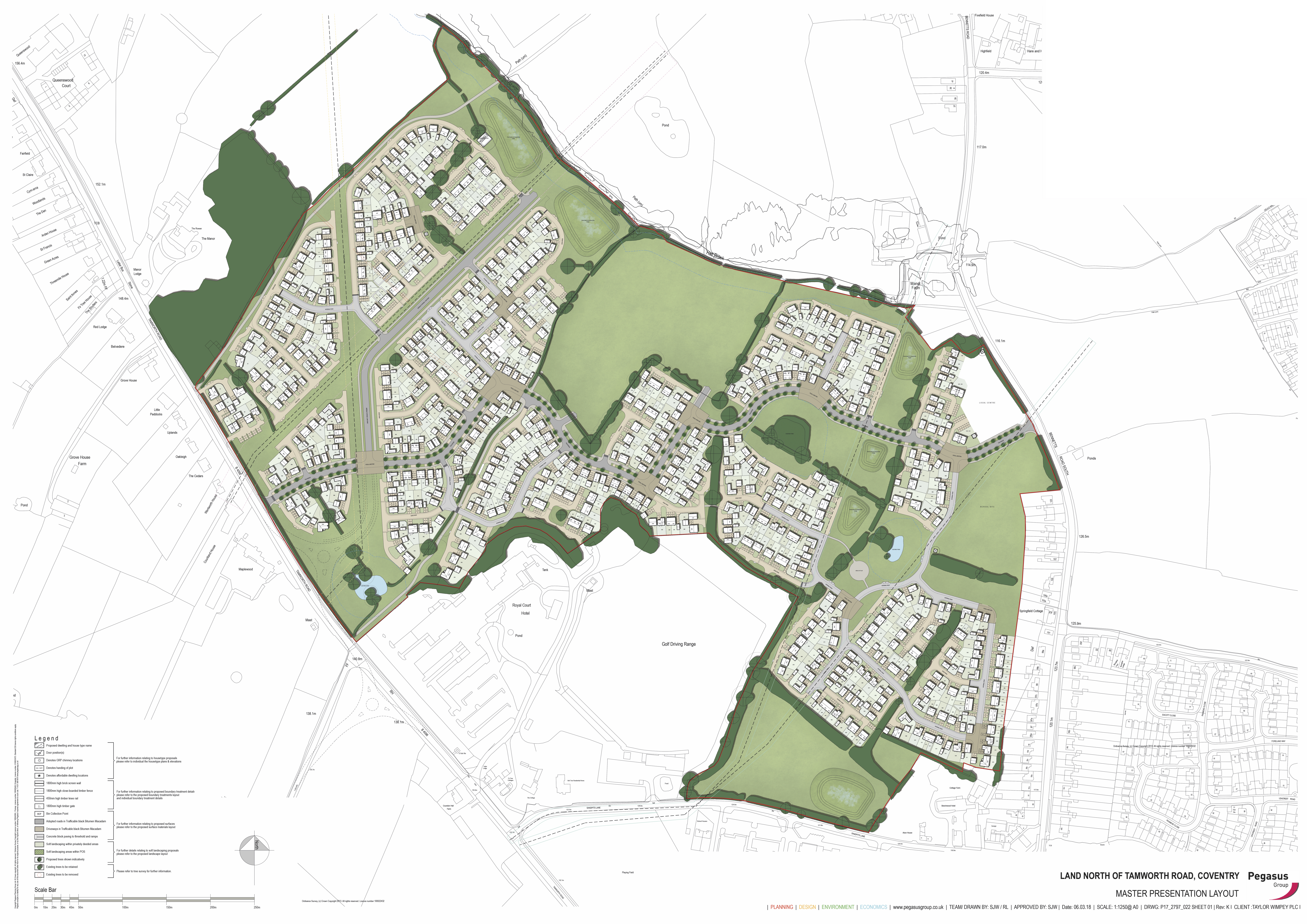 TWM_Tamworth Road_Site Layout