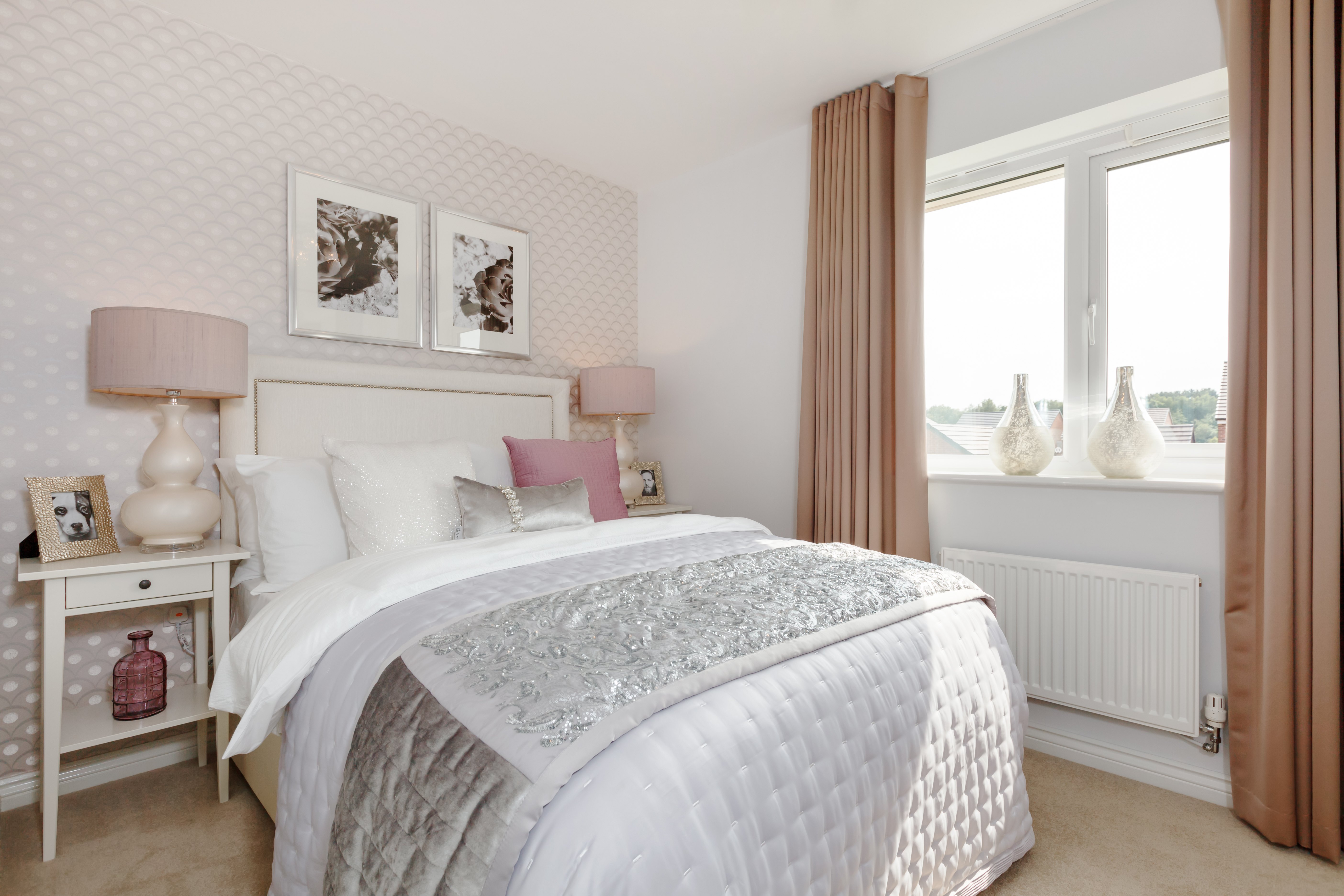 West Midlands - Burntwood Manor - Appleford Master Bedroom 1
