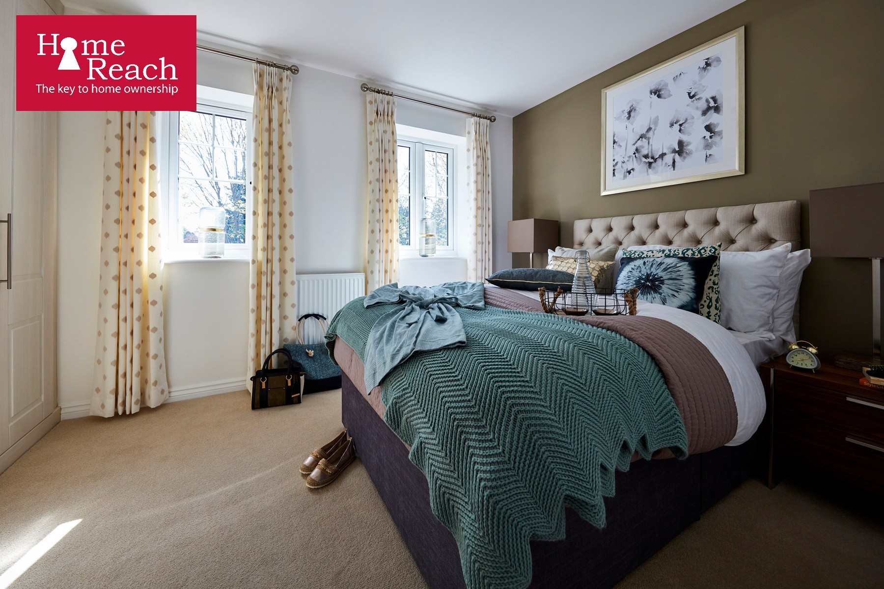 The Redwoods - Canford - Bedroom - Home Reach