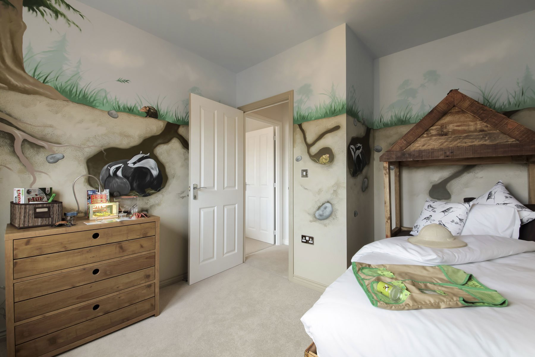 Monkford Childs bedroom