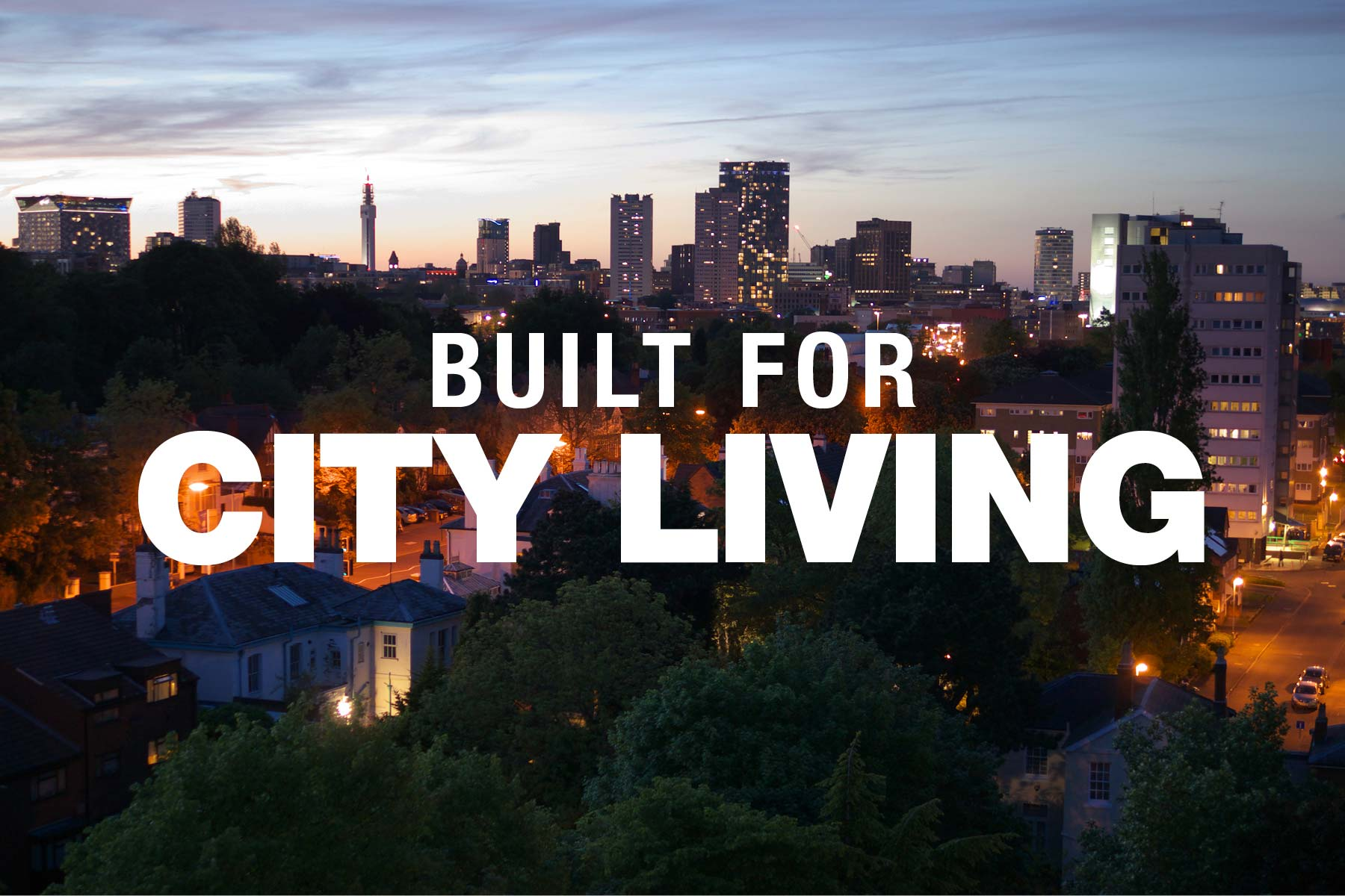 All Sites - Built For City Living Graphic